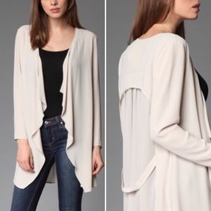 Sweaters - Long Sleeve Open Front Cardigan